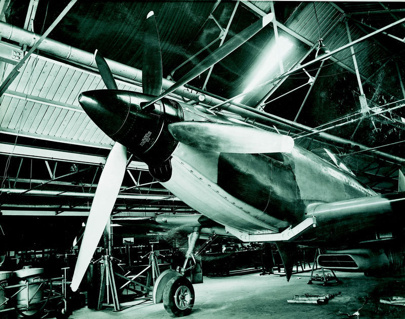 History Of The Martin Baker Mb5 Airplane
